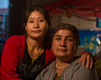 Han and Uygur Woman