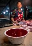Pig blood