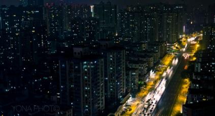 Guangzhou nightview, Guangdong, 2010