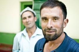 Uyghur Men, Kashgar, Xinjiang 2011
