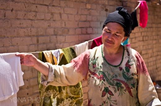 Uyghur Woman, Kashgar, Xinjiang, 2011