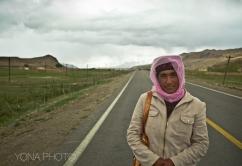 Tajikh Woman, Karakoram Highway, Xinjiang, 2011