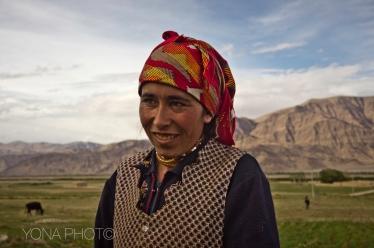 Tajikh Woman, TashKurgan, Xinijang, 2011