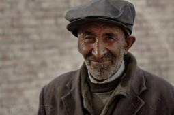 Tajik father, Karakoram Highway, Xinjiang, 2011