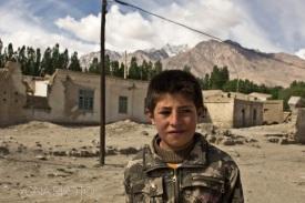 Tajik boy in Tashkurgan