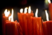 Candles preluding Christmass