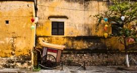 Merchant cart in Hue, Vietnam