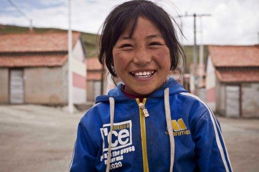 Tibetan Girl in MaDuo