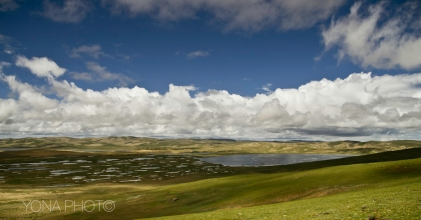 The Tibetan Plateau south of Maduo, Qinghai Province, China