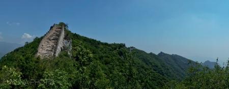 Unrestored Chinese Wall, JinShanLing, Outer Beijing, China