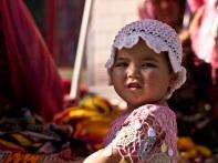 Uyghur girl in Xinjiang