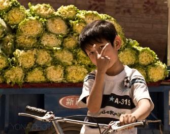 Uyghur boy in Kashgar
