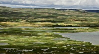Lake District in the Tibetan Plateau, Qinghai Province, China