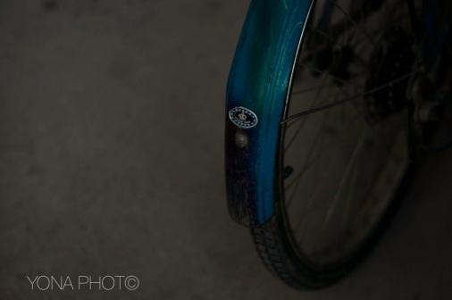The Back of a Bike