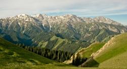Heavenly Mountains near Kyrgyzstan - Xinjiang Province