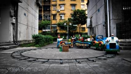 Minor theme park, Shaoguan, Guangdong, 2012