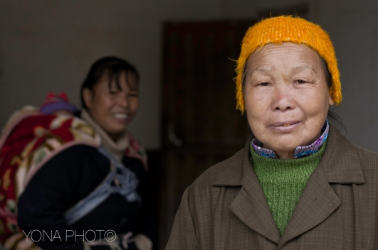 Hakka Women in their winter outfits