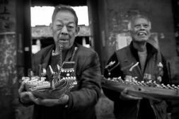 Dragon boat winners, QinCun, Guangzhou, Guangdong, 2012
