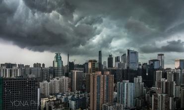 Storm, Guangzhou, Guangdong, 2012