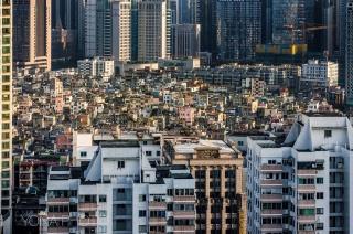 View on XianCun - next to Shipaiqiao metro Station - Guangzhou, China 2011
