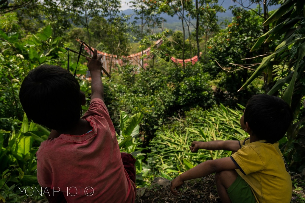 Playing Kids in Toraja