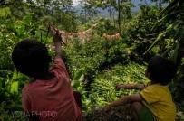 Playing Kids in Toraja