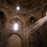 """Dusty Dusky Dungeon Mosques"" in Isfahan - Iran 2016"