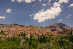 Ancient village of Abyanenearby Kashan - Iran