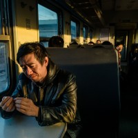 Morning ponderings in the train to Pingyao, Shanxi Province